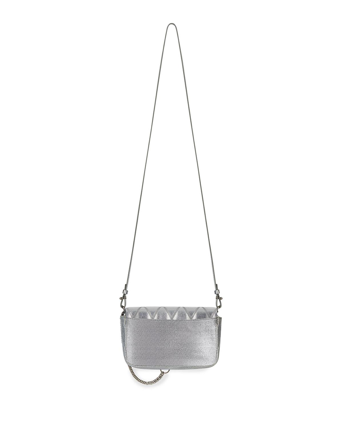 2f098a78bd43 Lyst - Givenchy Pocket Mini Pouch Canvas Convertible Clutch belt Bag