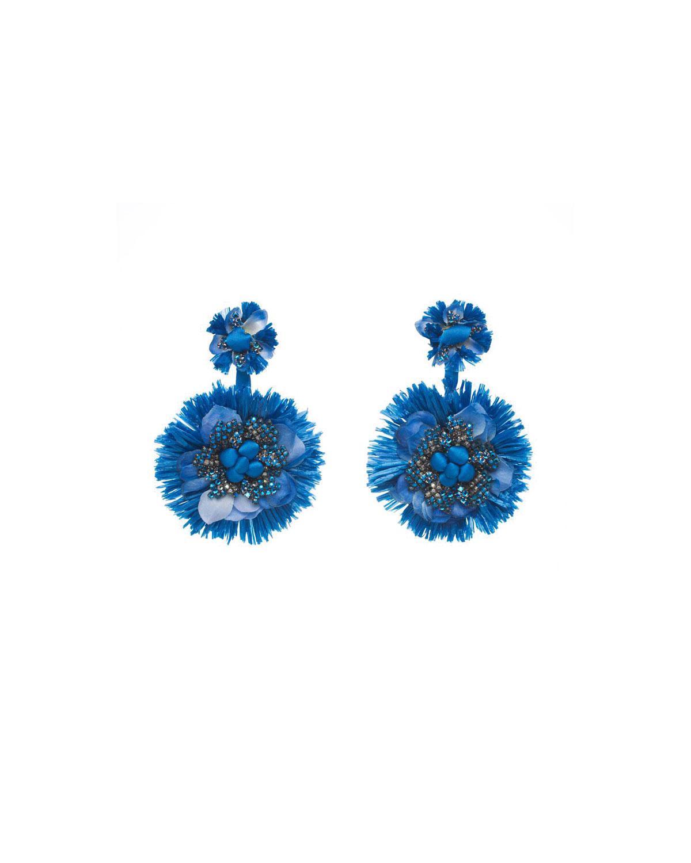 Ranjana Khan Bluejay Clip-On Statement Earrings DwGWq7yd