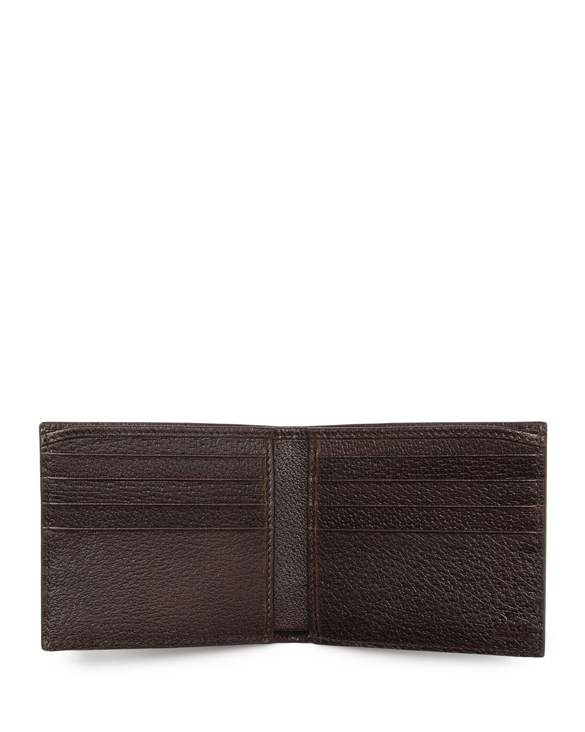647a5591bda6 Gucci Leather Web Bifold Wallet | Stanford Center for Opportunity ...