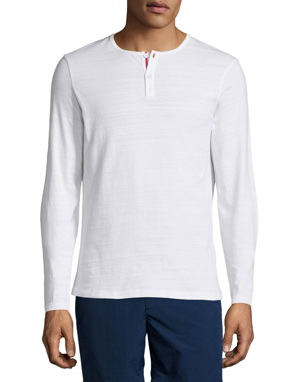 Free shipping and returns on Men's White Henley T-Shirts at travabjmsh.ga