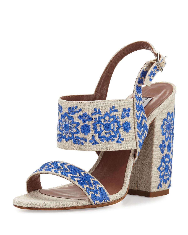 Senna Festival sandals - Blue Tabitha Simmons NO8H3WlO67