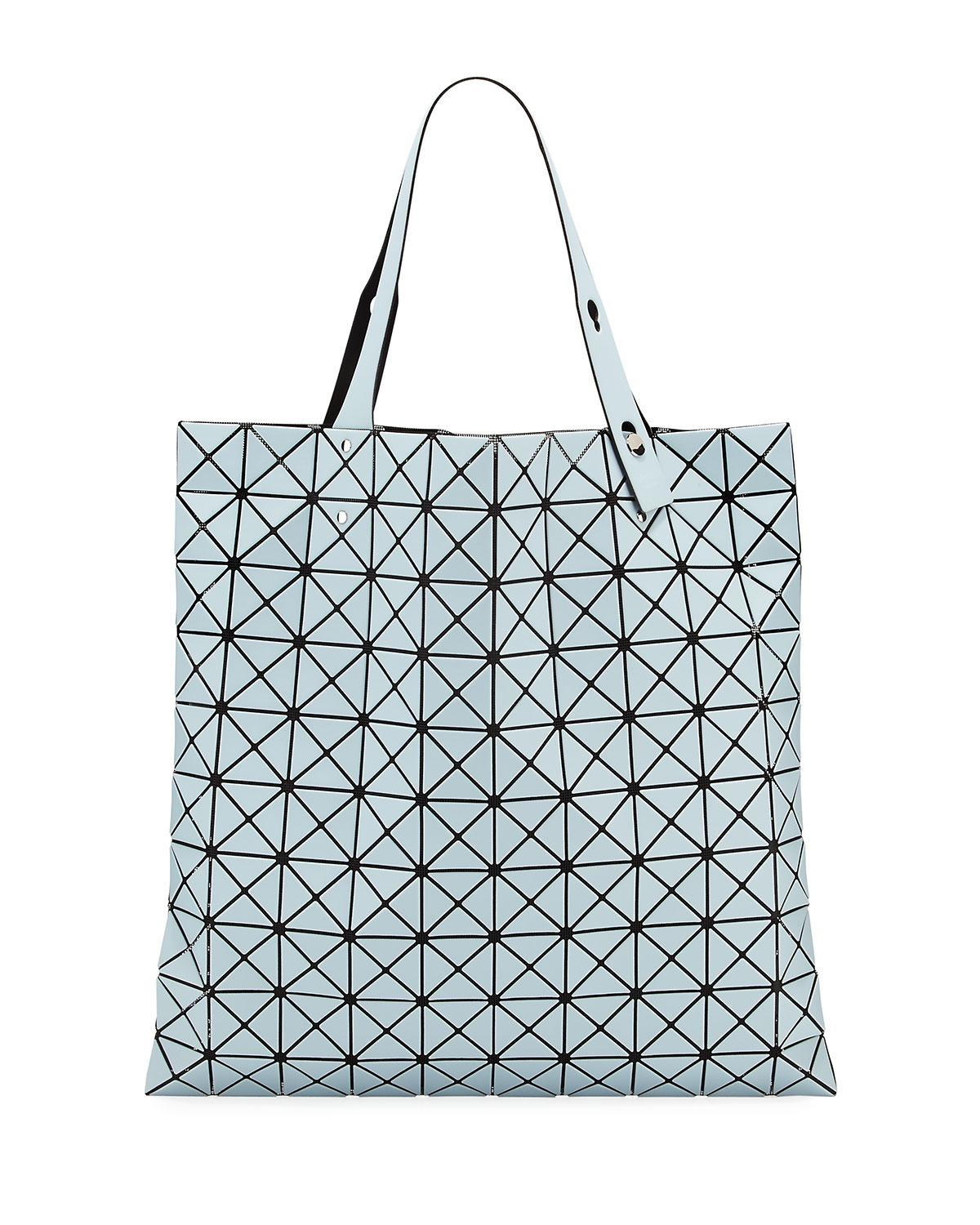 81bef417a8fa Lyst - Bao Bao Issey Miyake Lucent Frost Lightweight Faux-leather ...