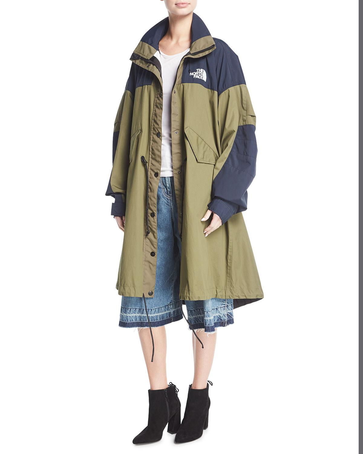 f6113a195d6fc Lyst - Sacai The North Face    174 Fishtail Parka in Black