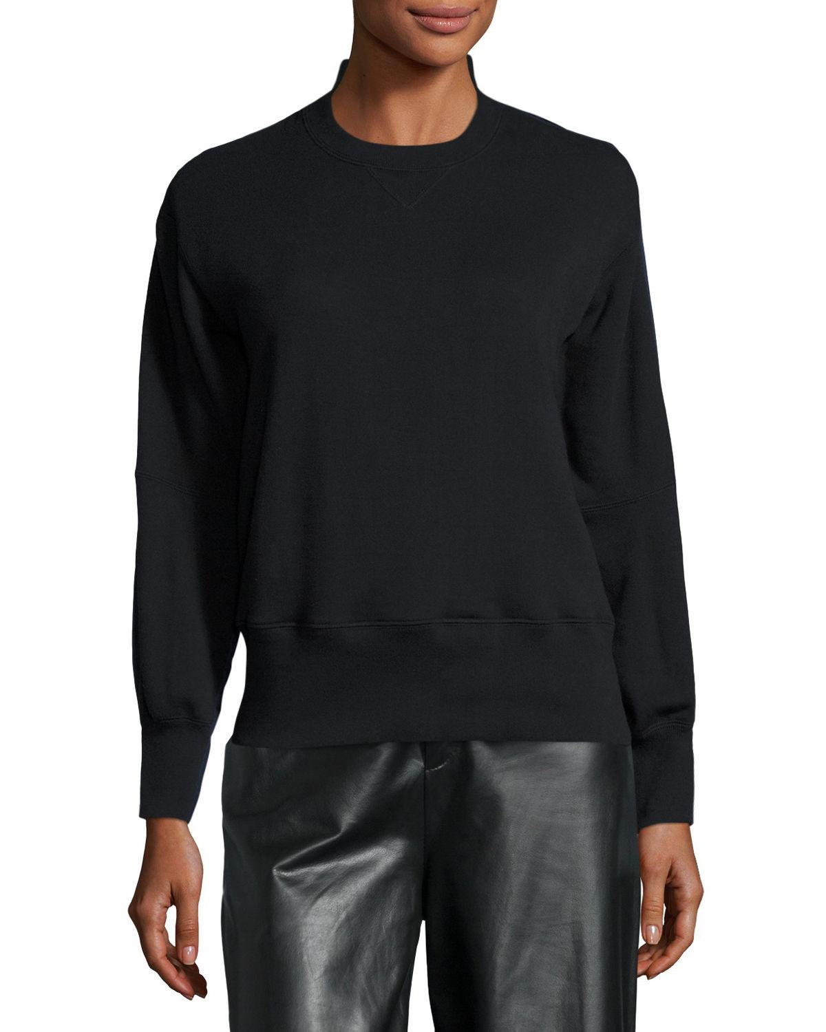 Lyst sacai combo sweater shirt in black for men for Sweater and dress shirt combo