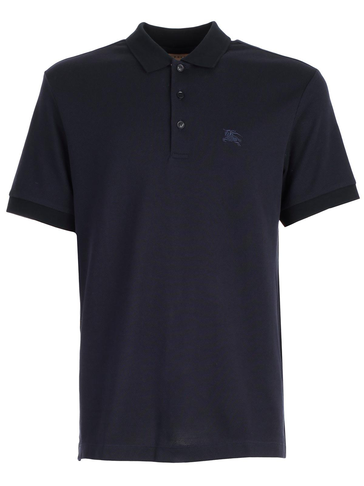 f5d61ba6 Lyst - Burberry Polo Hartford in Blue for Men