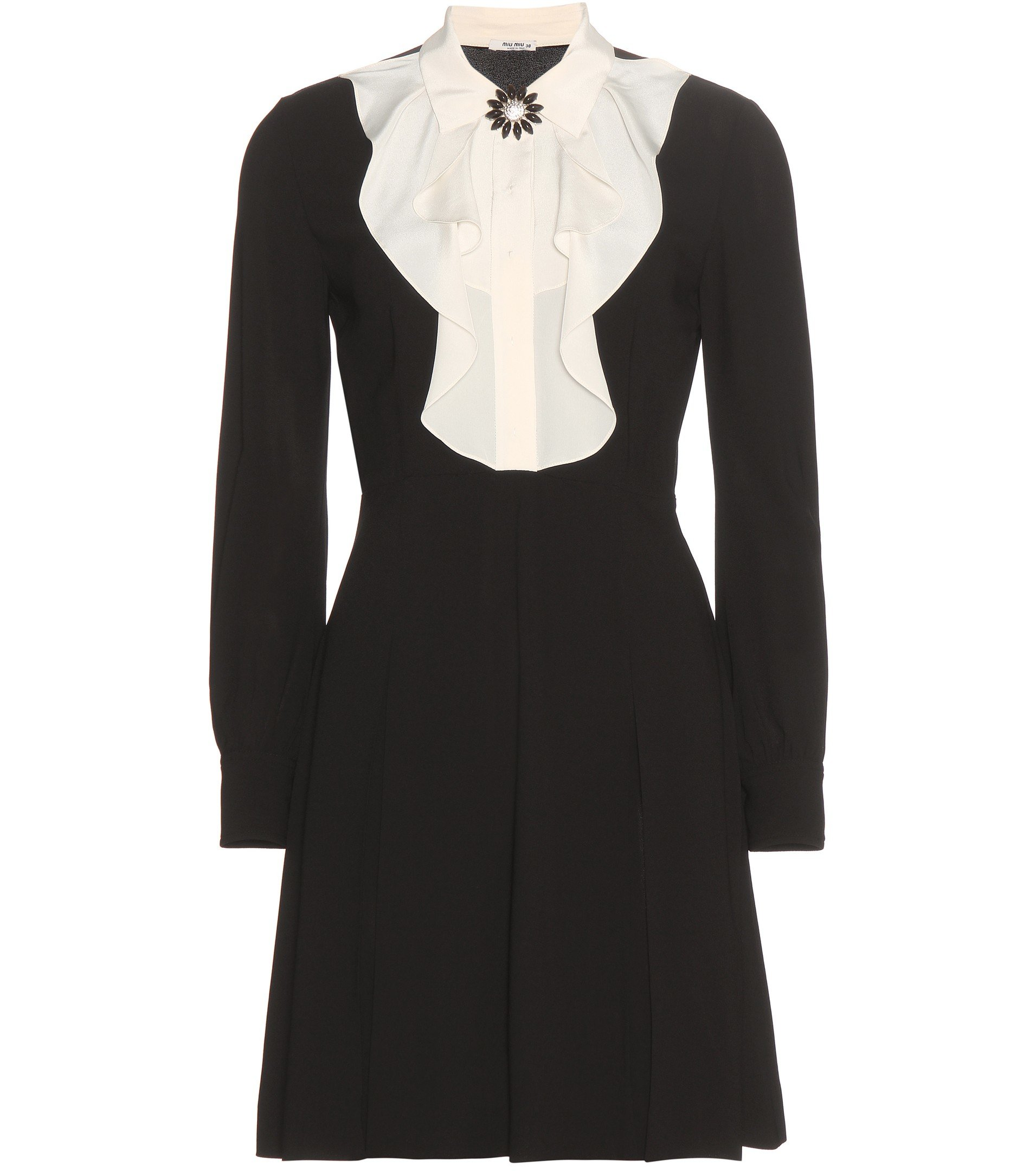 Miu Miu Beaded Silk Dress Cheap Best Store To Get Shopping Online Browse Outlet Fake Buy Cheap Looking For qlW5rAM