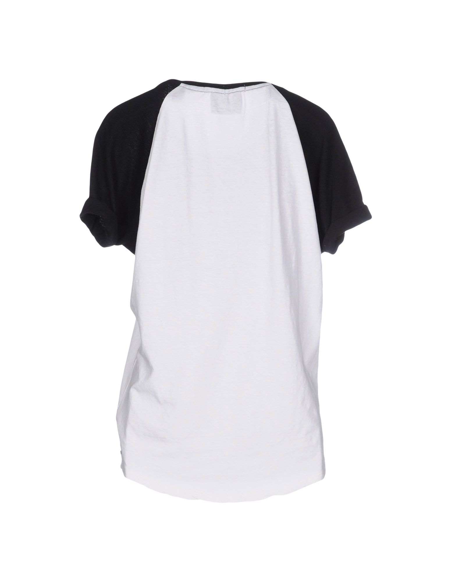 Lyst maison scotch t shirt in white for About maison scotch