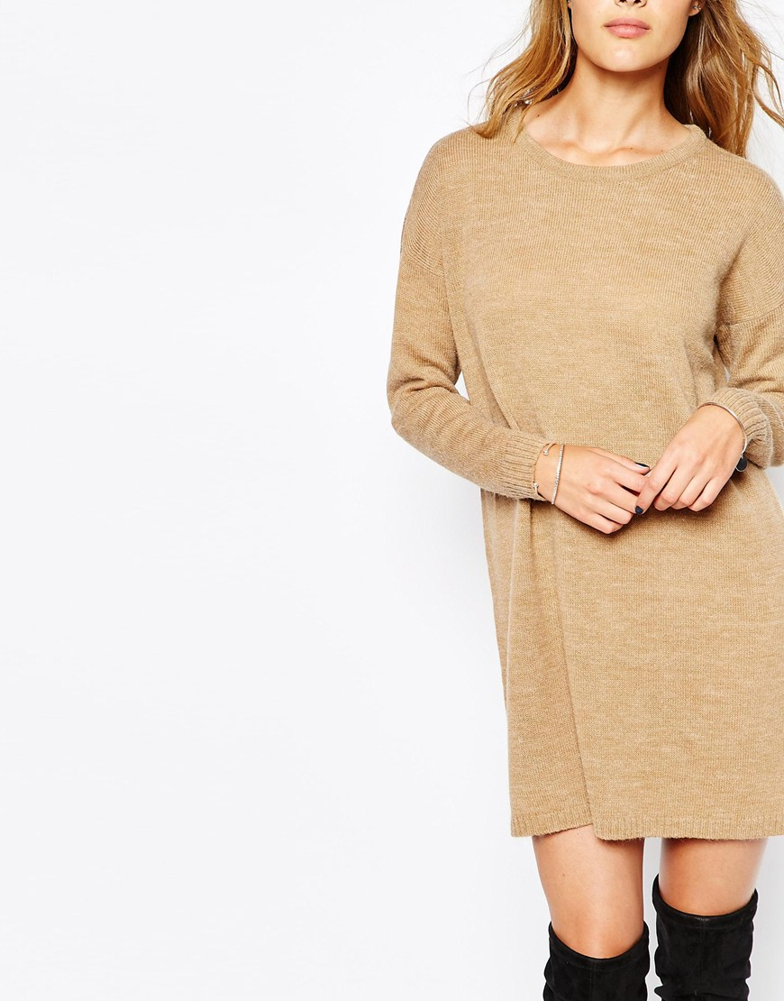 Sweater Dress Ankle Boots Outfit4