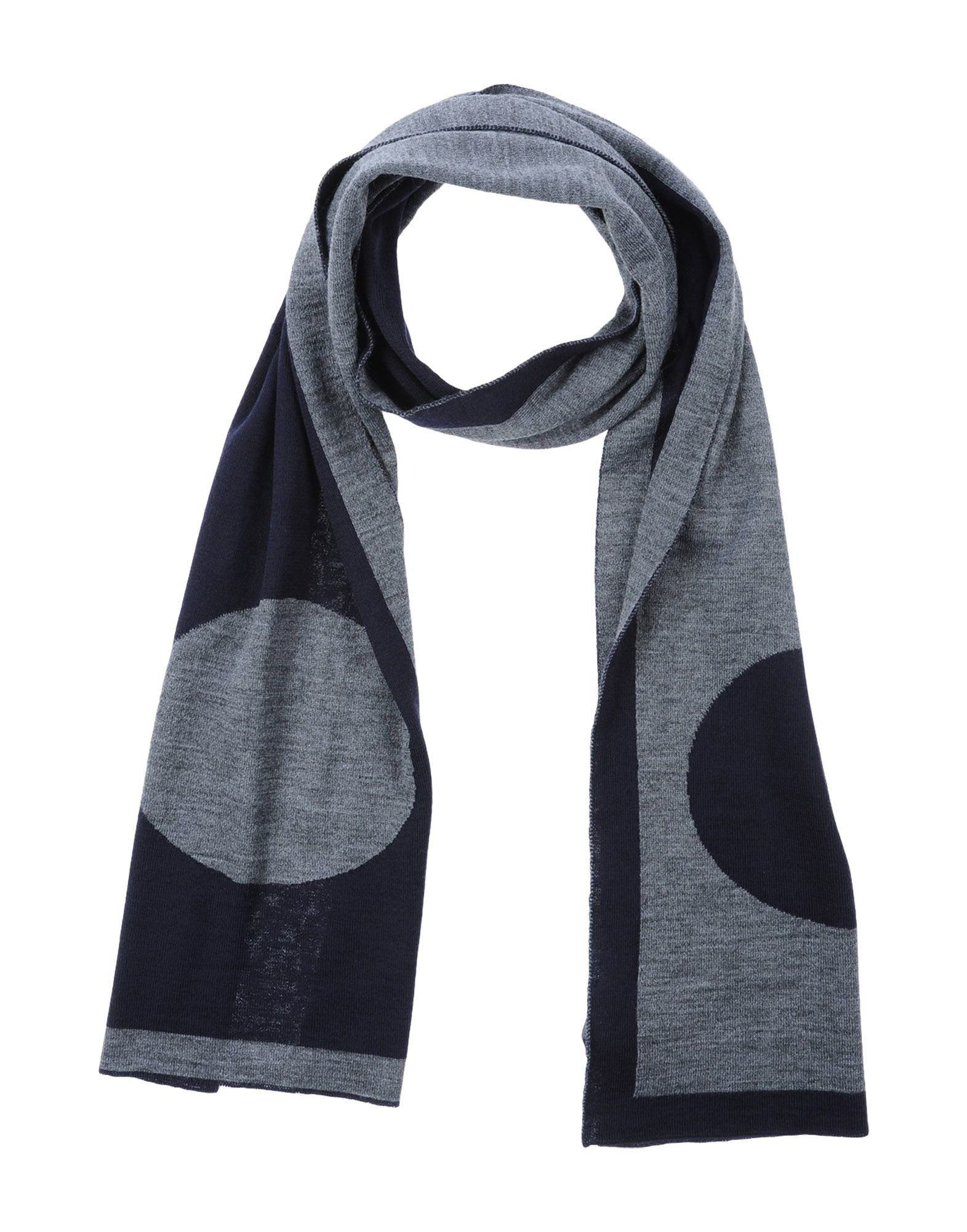 armani oblong scarf in black for lyst