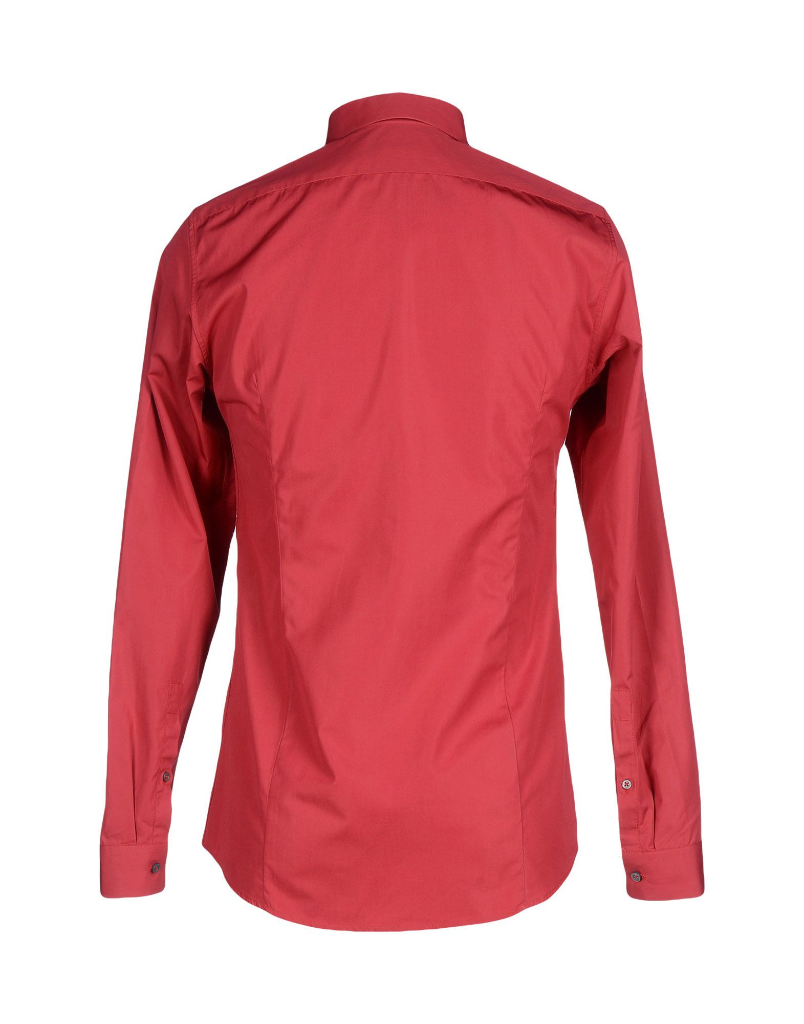 Lyst jil sander shirt in red for men for Jil sander mens shirt