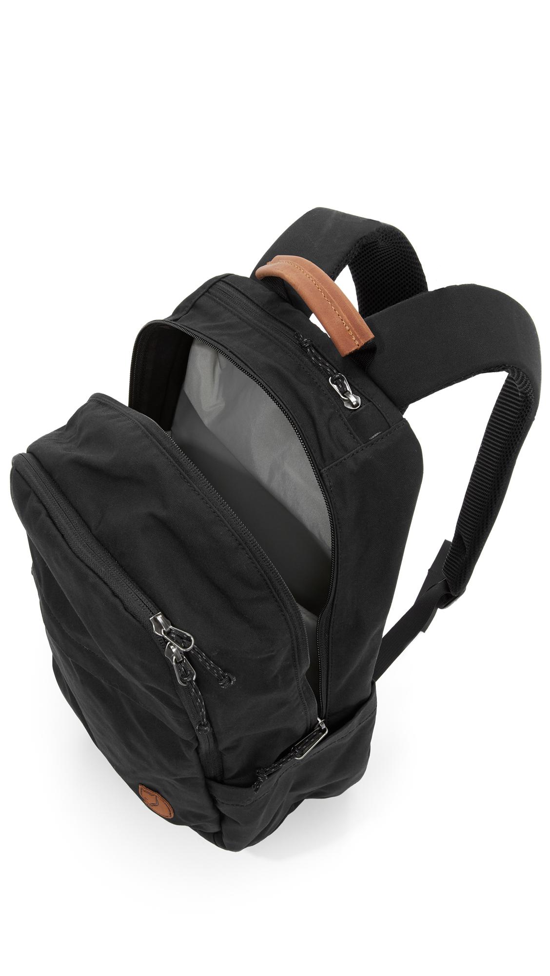 Fjallraven Raven 20l Backpack In Black For Men Lyst