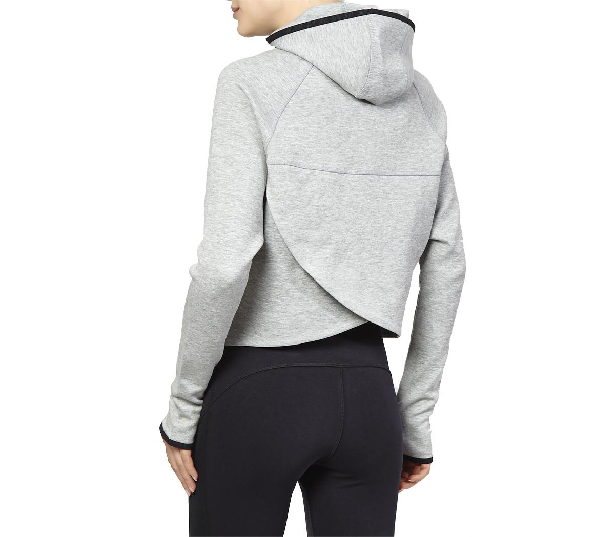 the latest a7548 10177 Lyst - Nike Tech Fleece Butterfly (W) in Gray