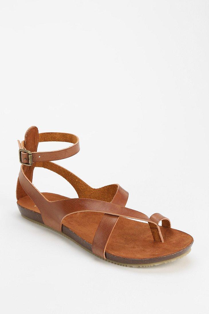 859e8450519c Lyst - MIA Gumdrop Anklewrap Sandal in Brown