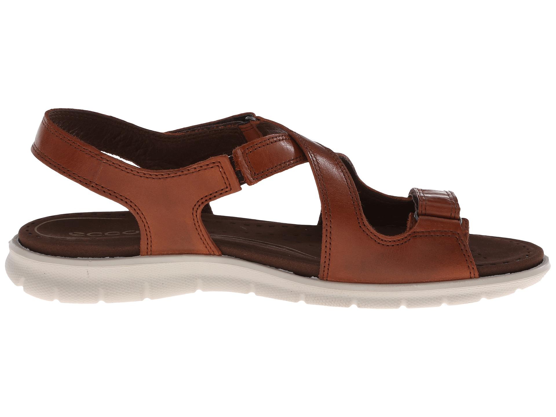 Lyst Ecco Babett Sandal In Brown