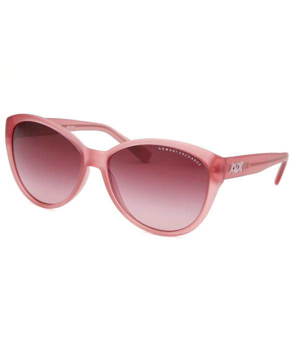 Armani Exchange Sunglasses Womens  armani exchange women s erfly pink transpa sunglasses in