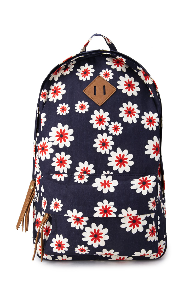 Forever 21 Sweet Floral Canvas Backpack | Lyst
