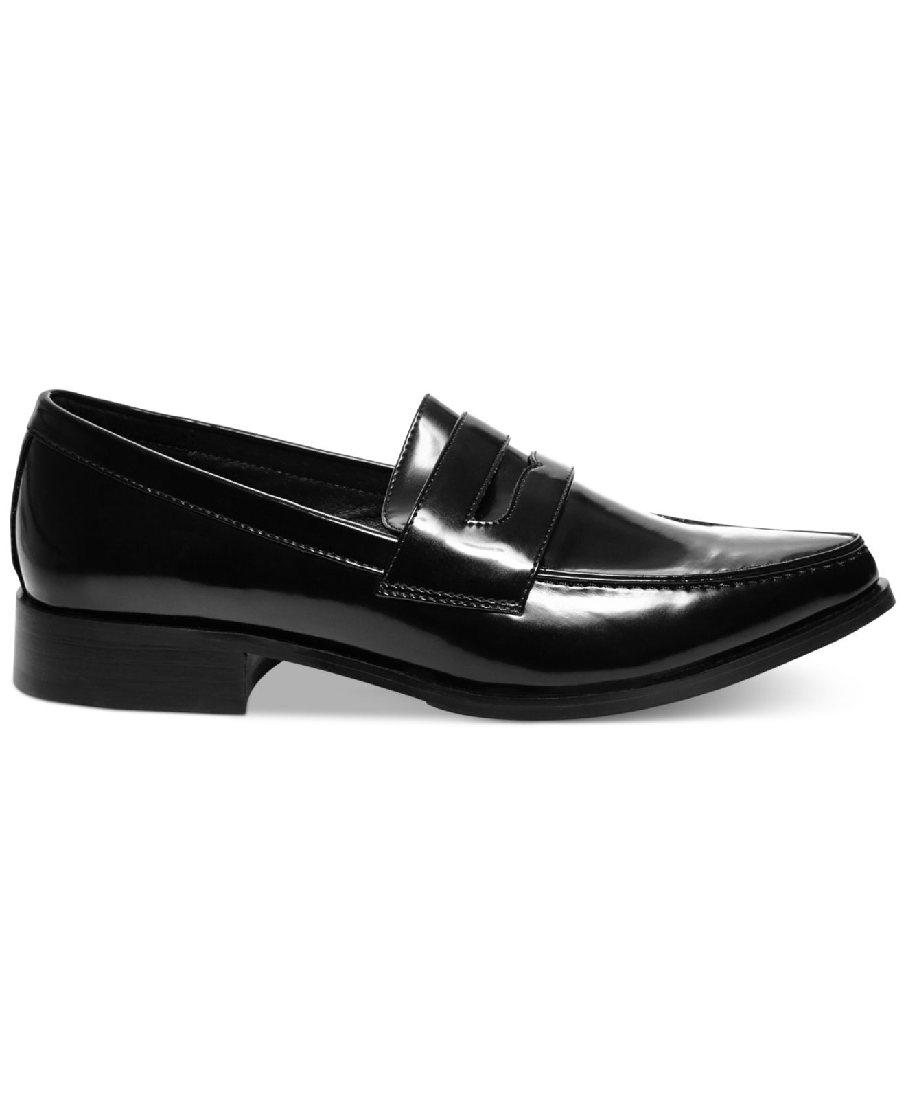 Steve madden Women'S Lindie Loafer Flats in Black | Lyst