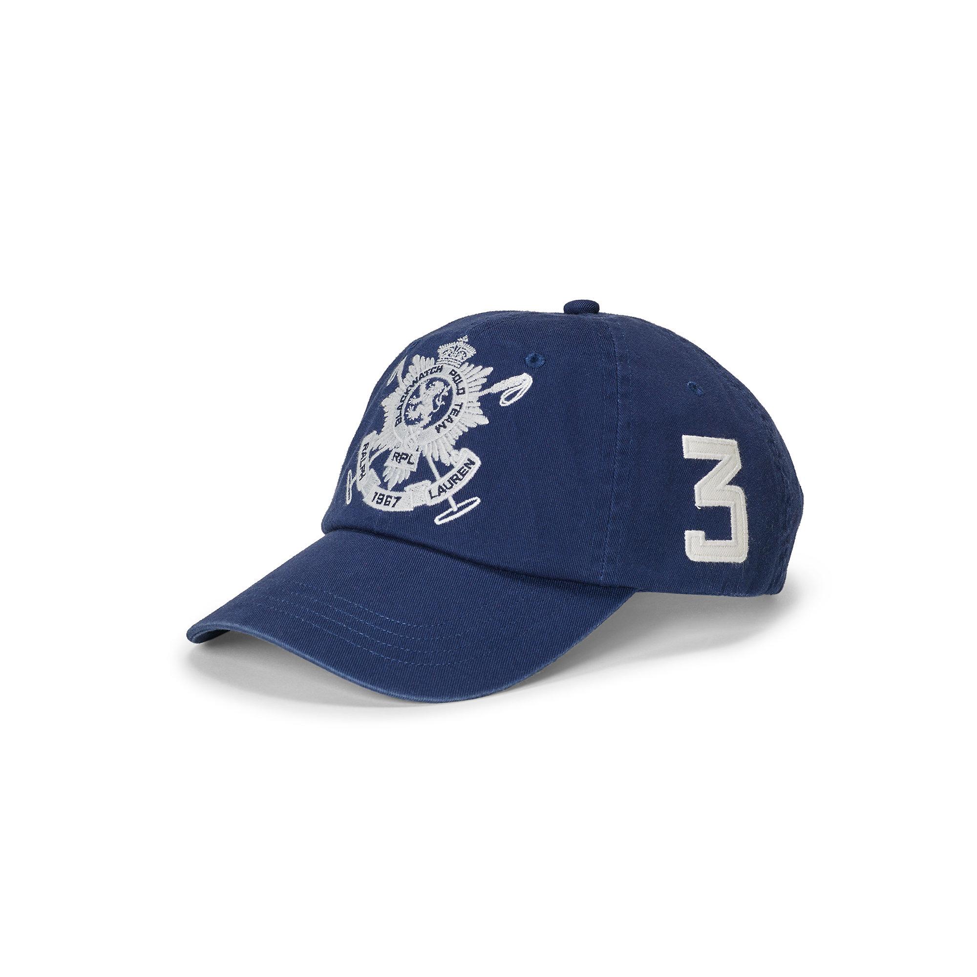 Lyst - Polo Ralph Lauren Blackwatch Cotton Baseball Cap in Blue for Men ca5e5fa9f96f