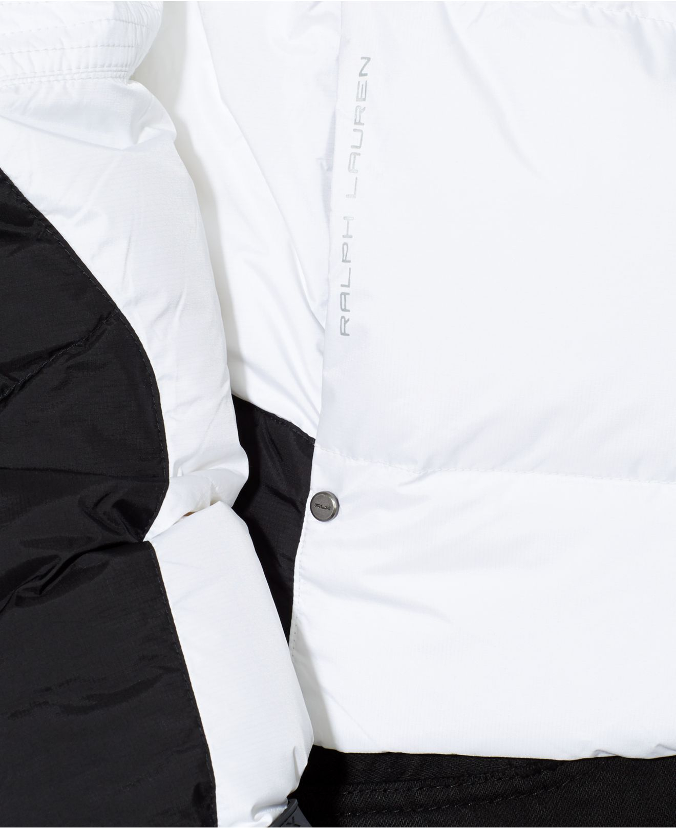 5202c434 Polo Ralph Lauren Rlx Quilted Down Jacket in White for Men - Lyst