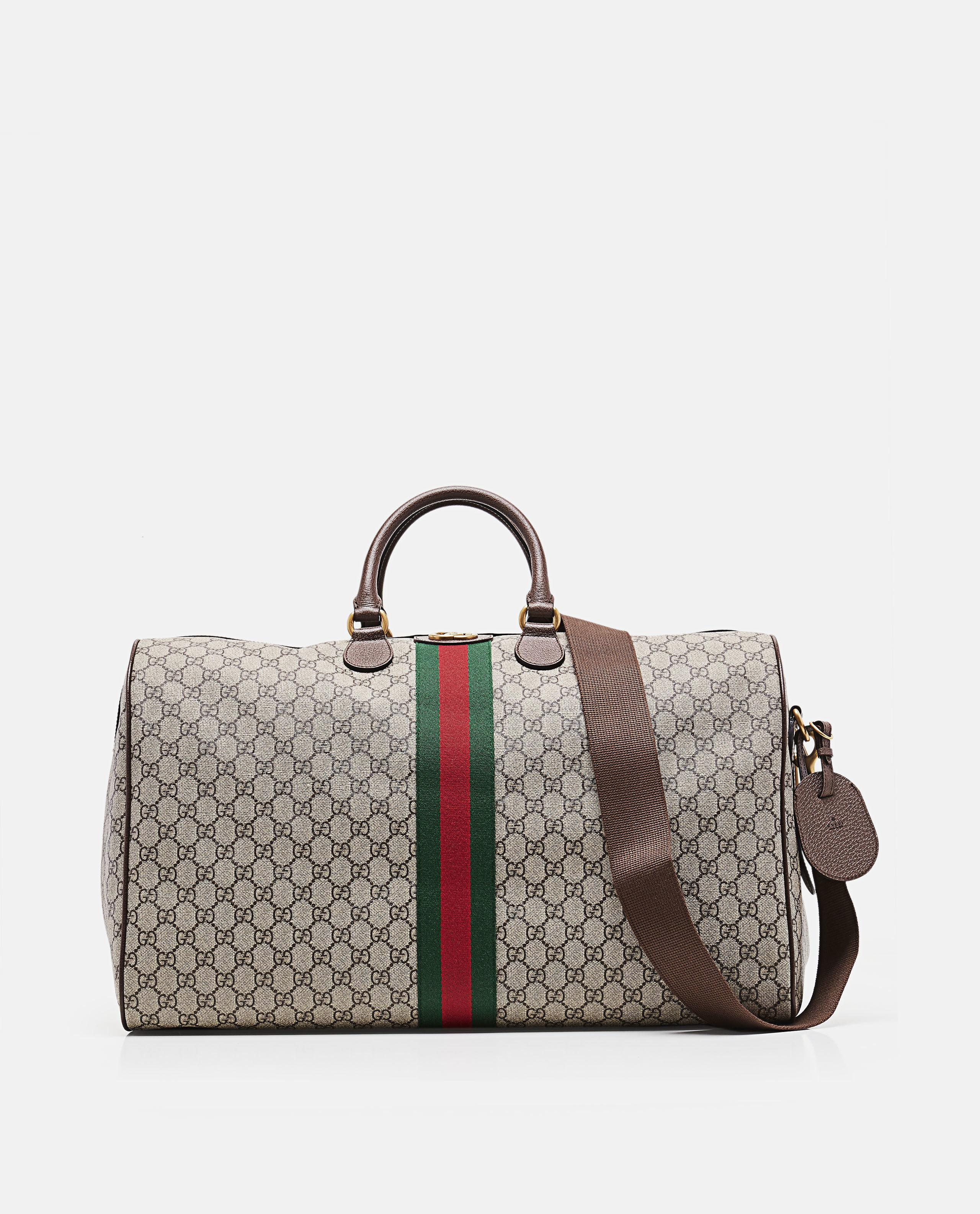 Lyst - Gucci Ophidia Gg Large Carry-on Duffle in Brown for Men 9b95b90f1c159