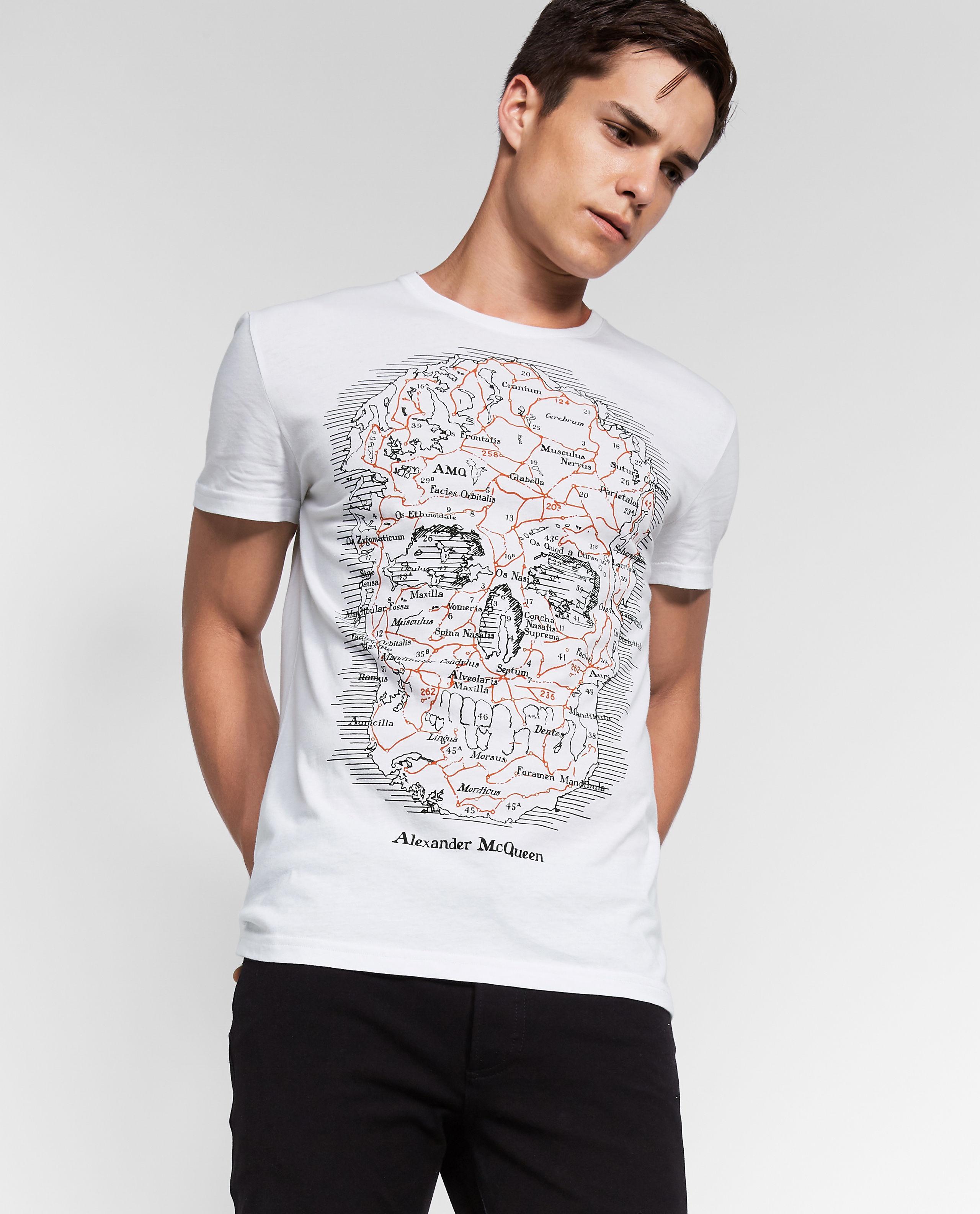 92ea2014 Alexander McQueen - White T-shirt for Men - Lyst. View fullscreen