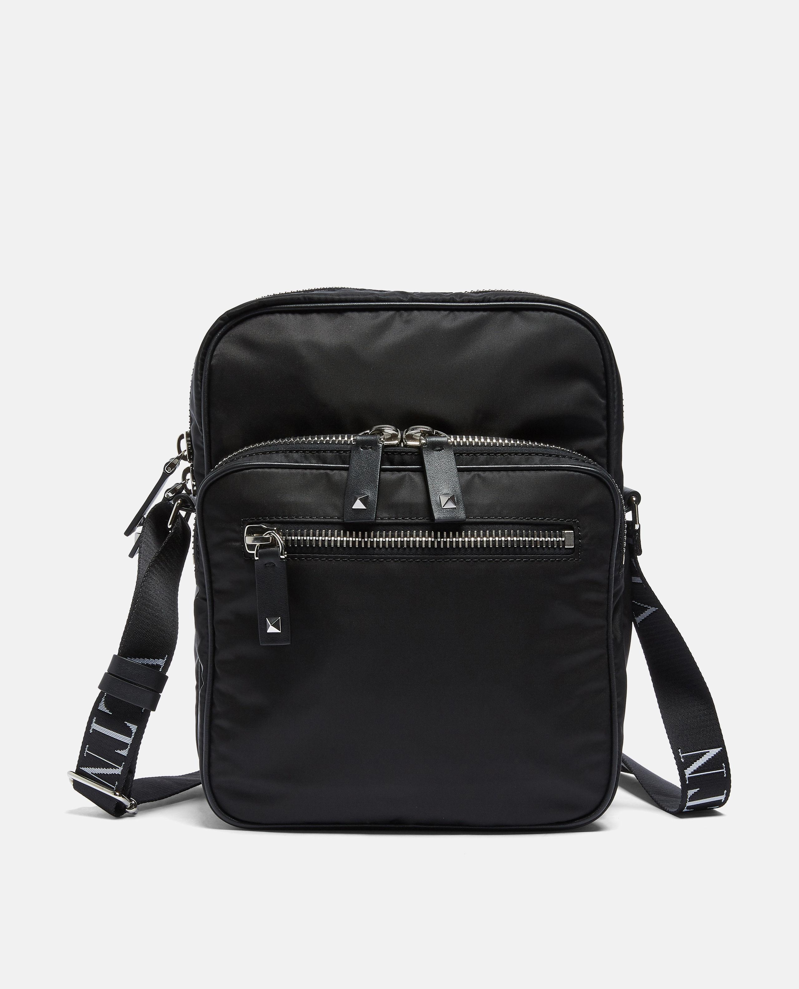 3f266f3cfe89 Valentino Three Pocket Bag in Black for Men - Lyst