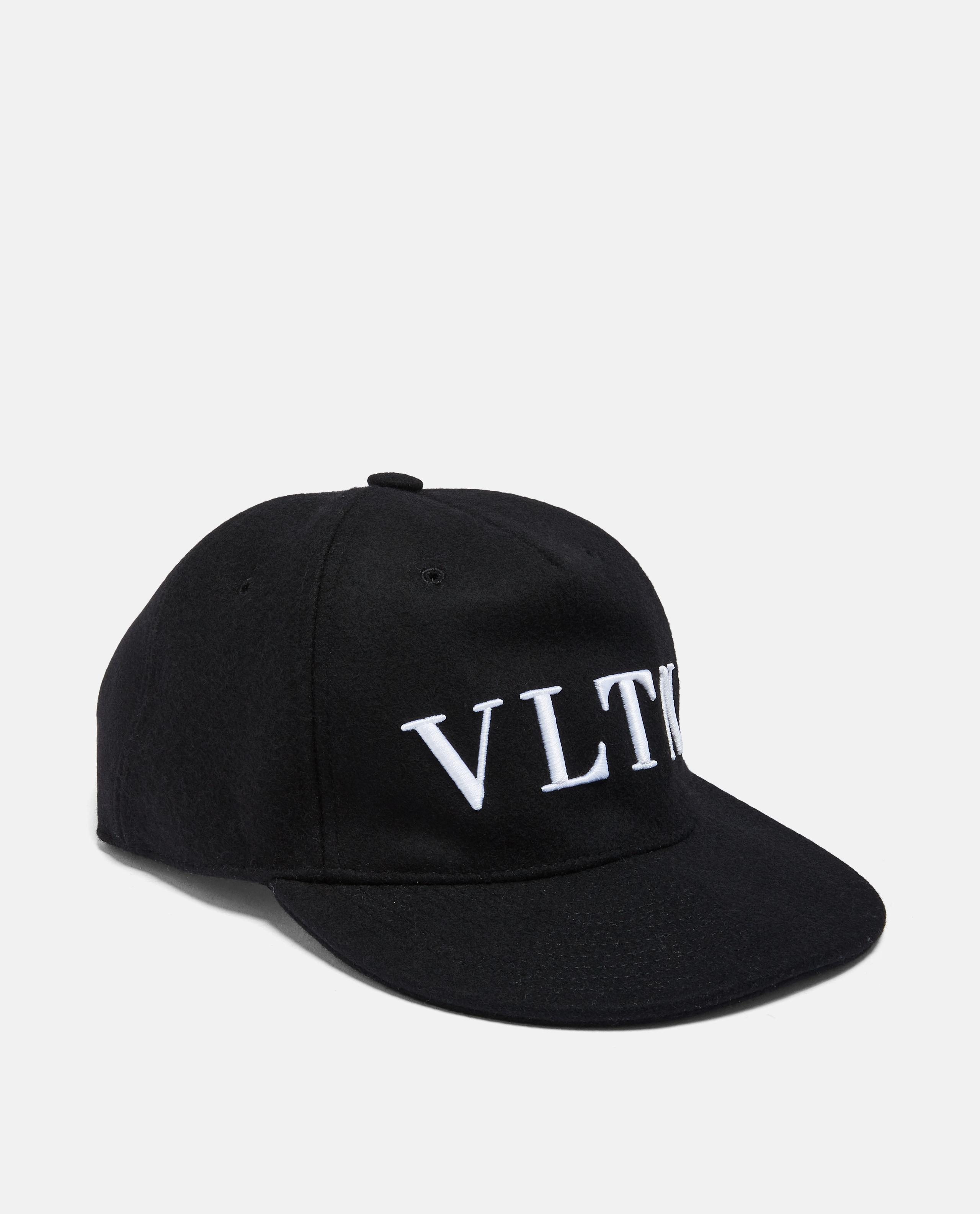 b080bc2a1cf Lyst - Valentino Vltn Hat in Black for Men