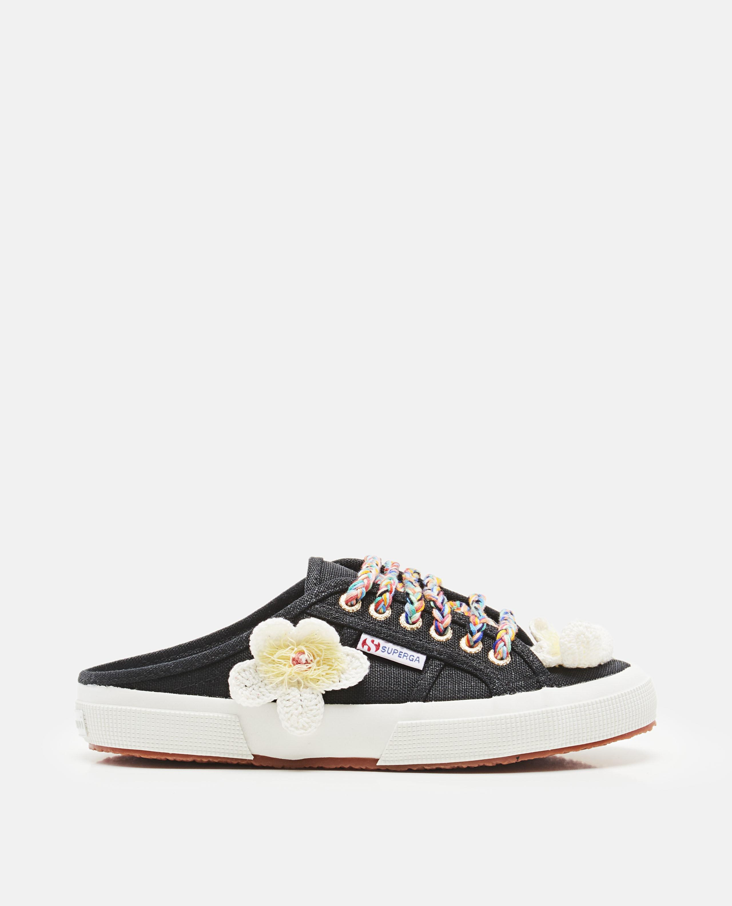 158e454cbdc7 Alanui - White X Superga Flowers Mule Sneakers - Lyst. View fullscreen