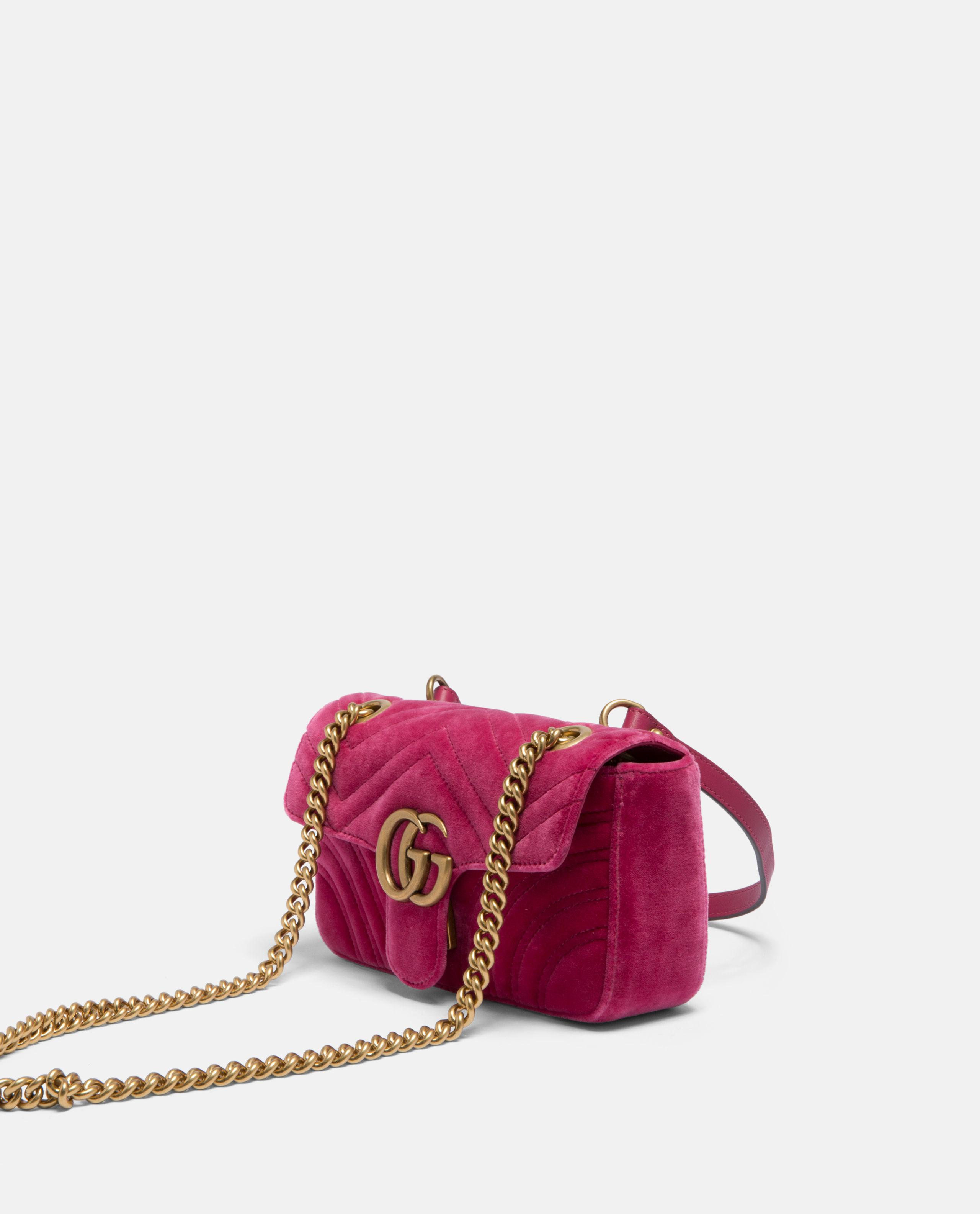 43cb607bee889b Gucci Mini GG Marmont Bag in Pink - Lyst