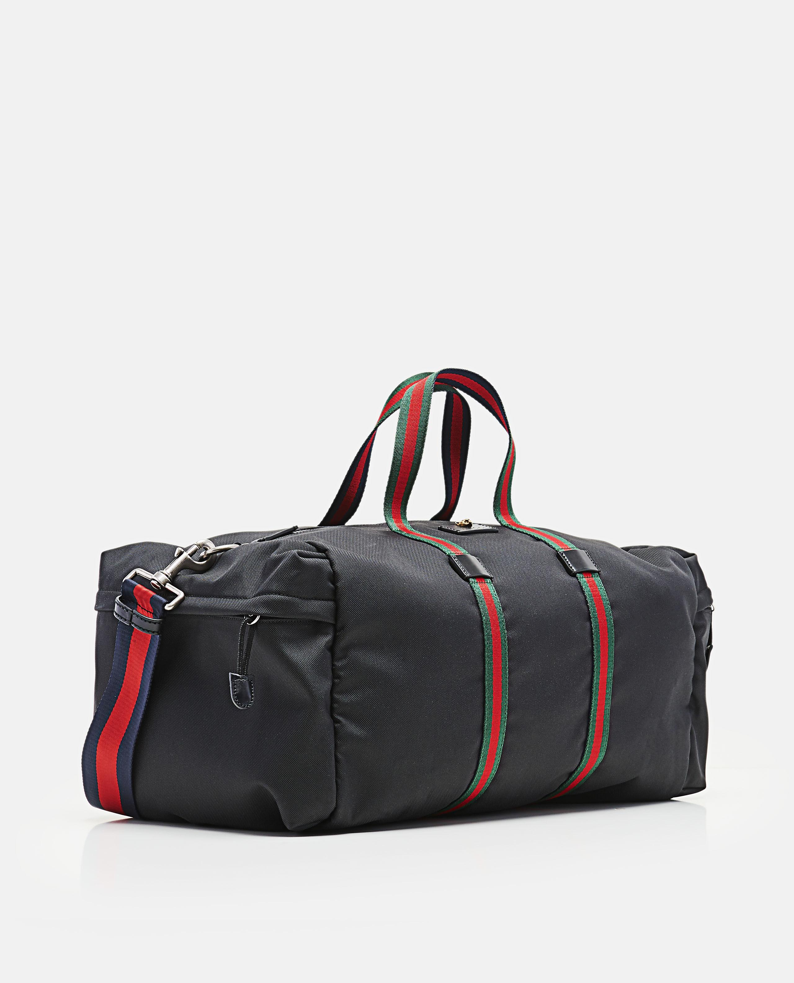 aafd5022cdbd Gucci Technical Canvas Duffle in Black for Men - Lyst