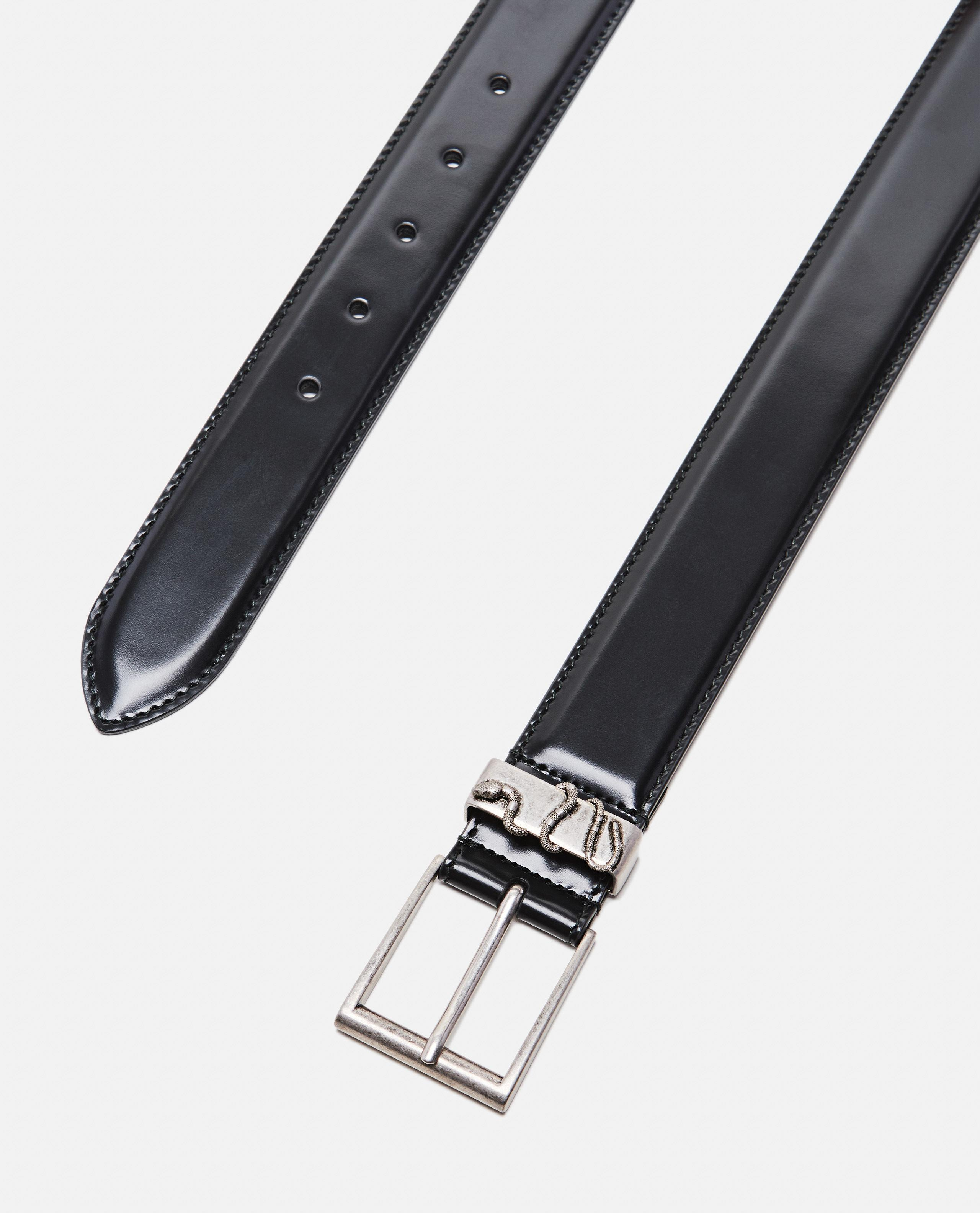 e061ac85396 Gucci Leather Belt With Snake in Black for Men - Lyst