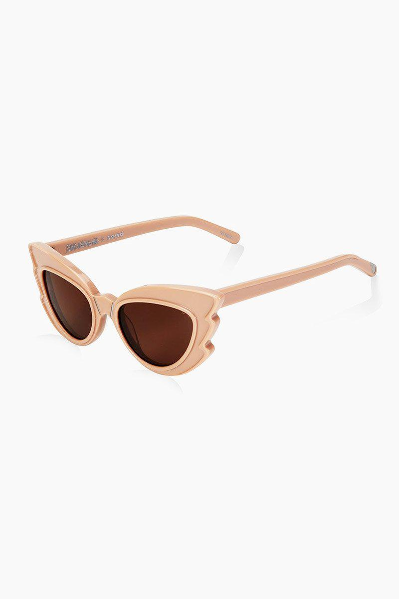 9d294c80ab Pared Eyewear - Stargazers Sunglasses - Light Fawn brown Lenses - Lyst.  View fullscreen