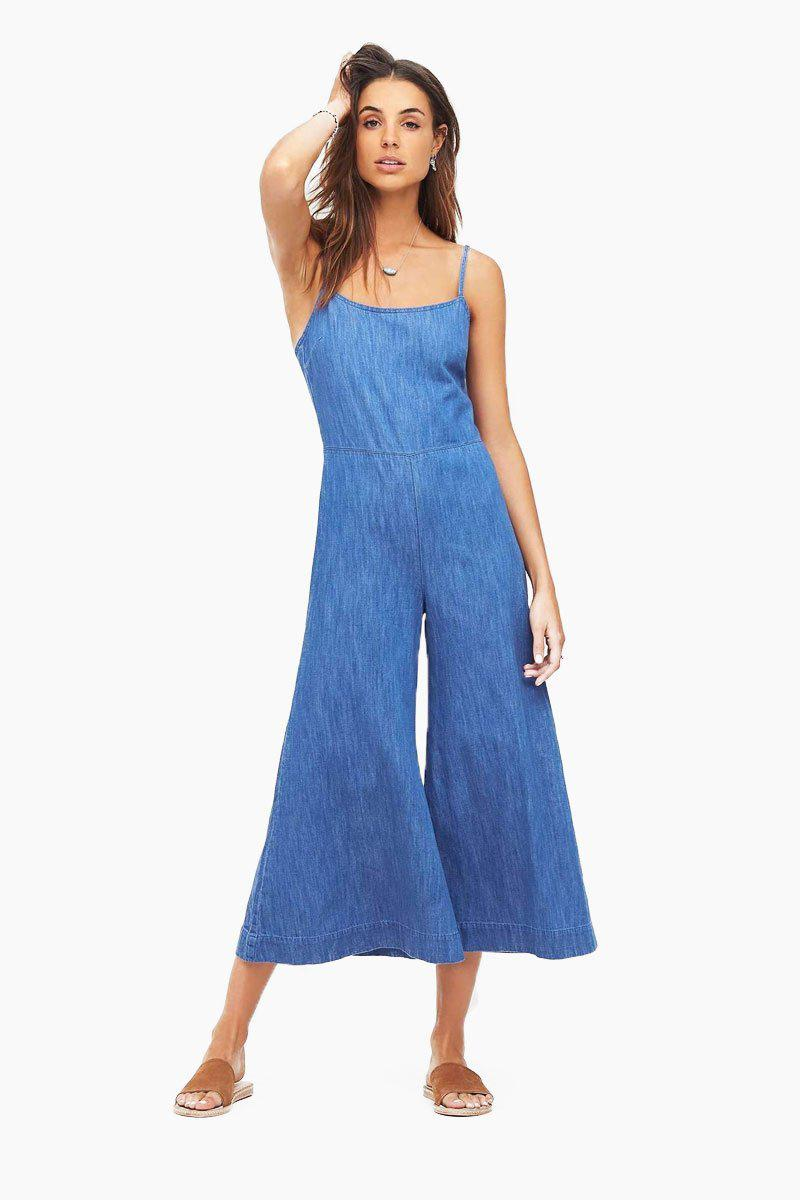0529fa728d Tigerlily White And Blue Jumpsuit - raveitsafe