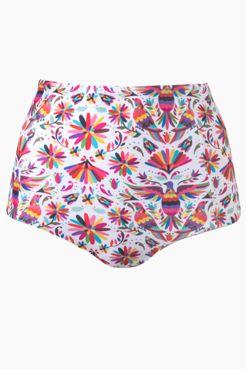 0b0a617ab6 Verdelimon - Banes High Waisted Bikini Bottom - Tapiz Red Print - Lyst.  View fullscreen