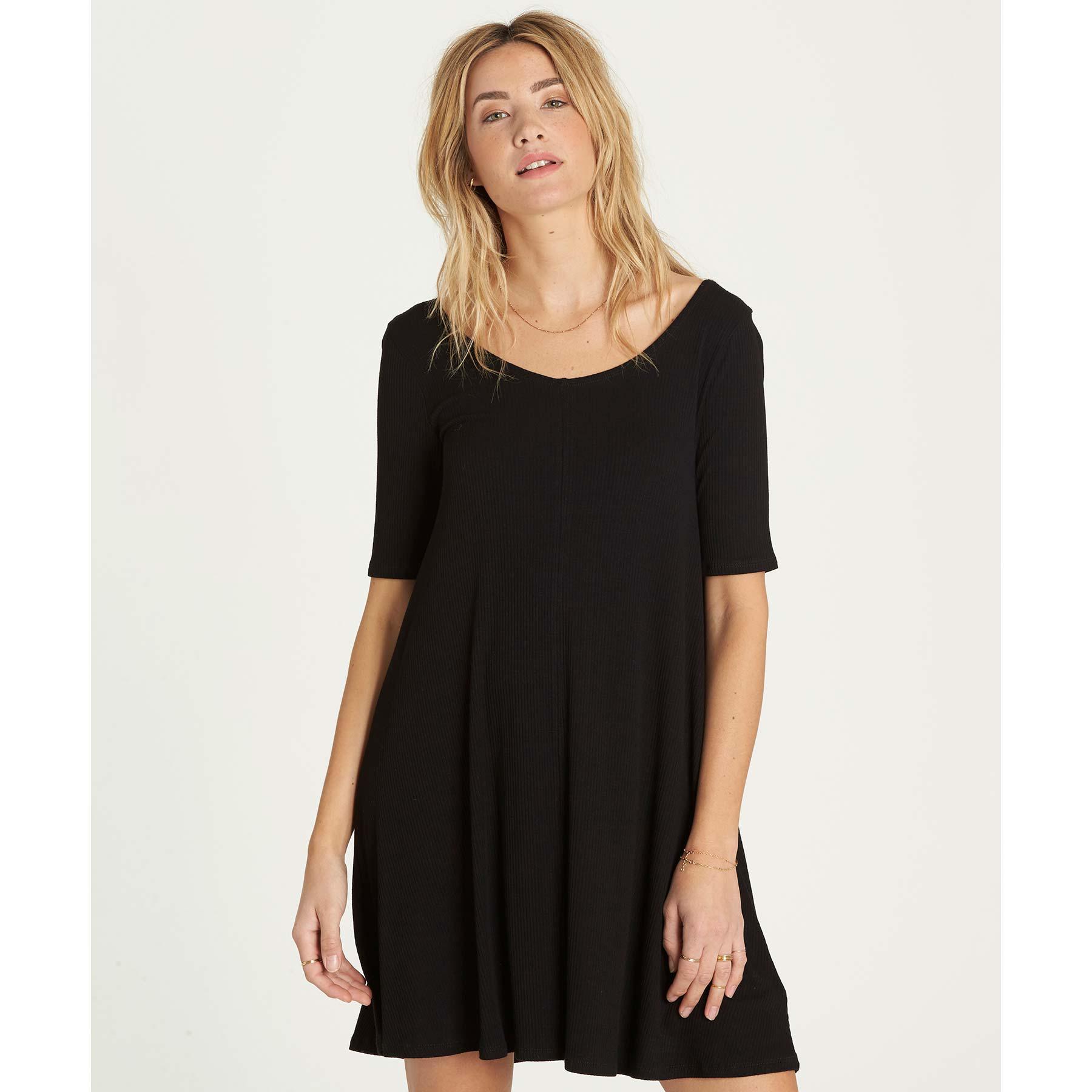c822195580 Billabong Nothing To Hide Dress in Black - Lyst
