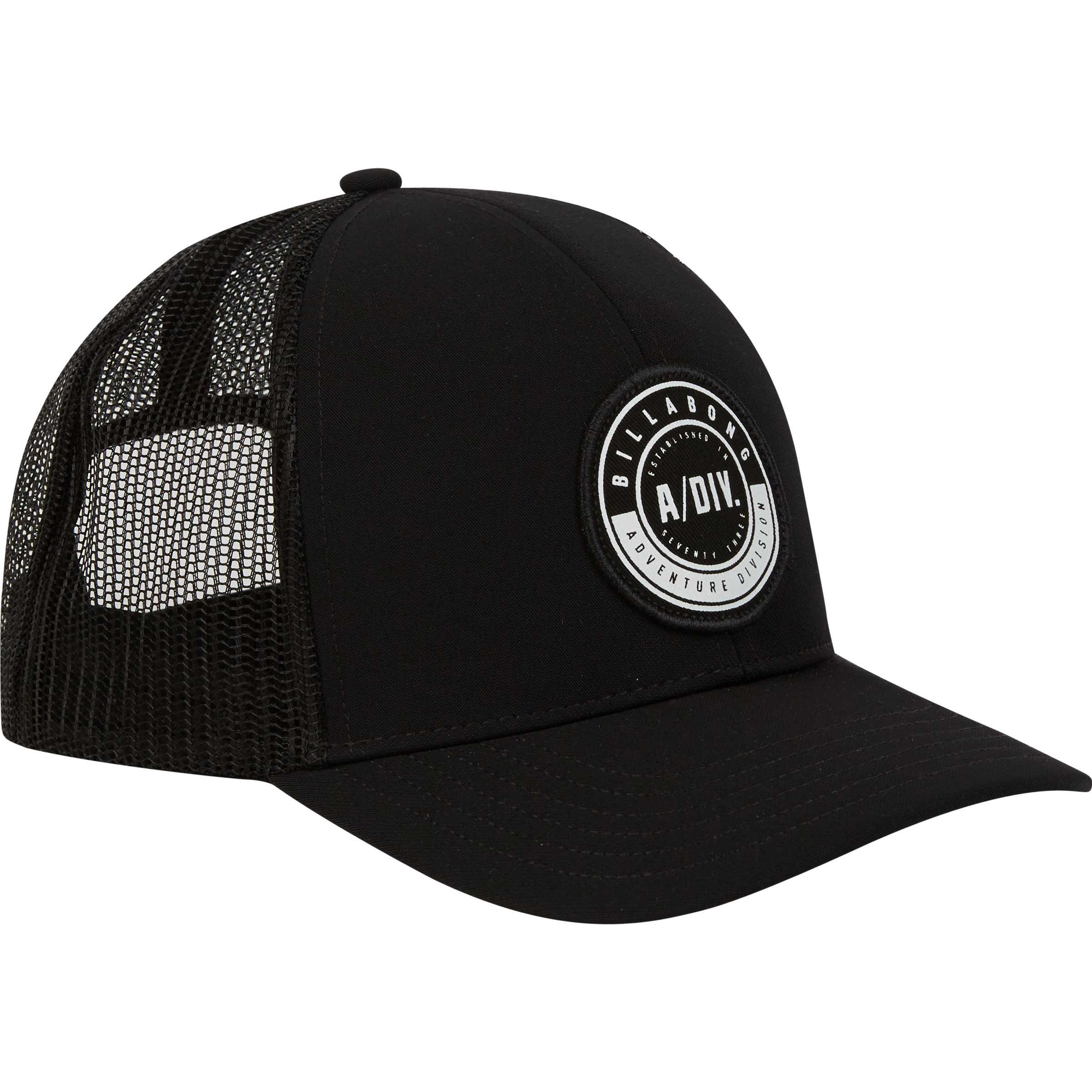 9792b68a ... best lyst billabong a div trucker hat in black for men c9426 d9a62