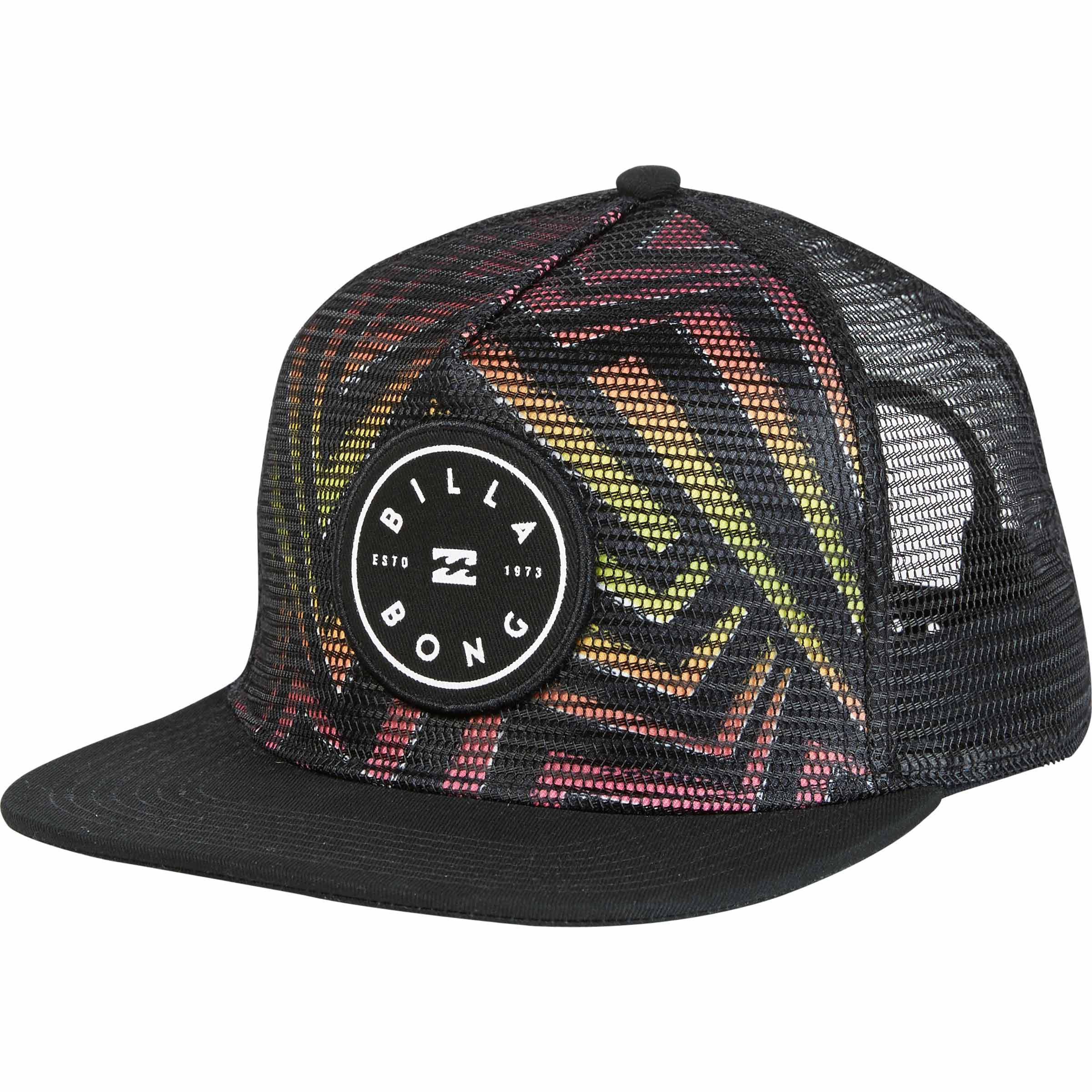 new concept 7a17b f3adc ... canada lyst billabong rotor trucker hat in black for men 006e7 78aff