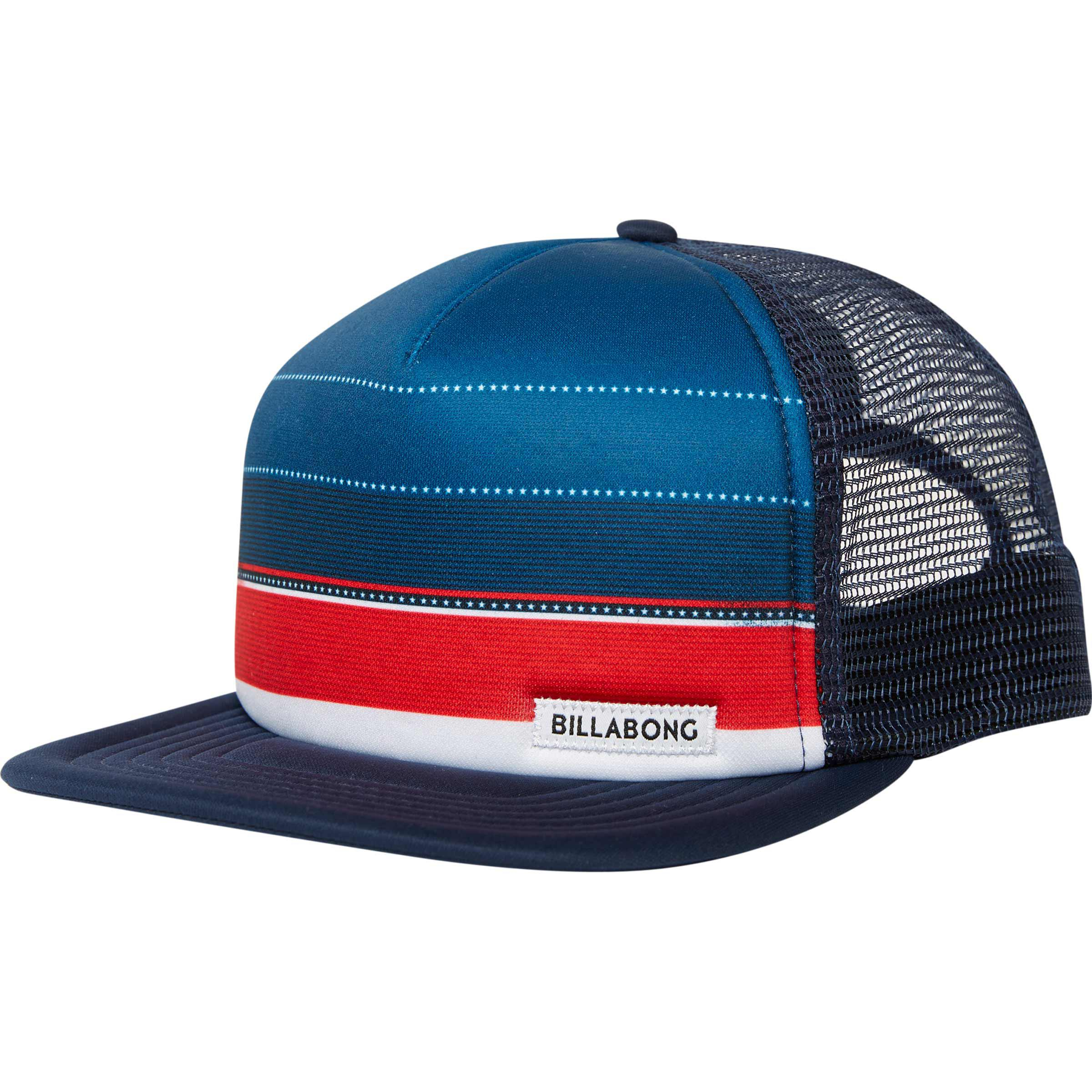e5fbc9de Lyst - Billabong Spinner Trucker Hat in Blue for Men