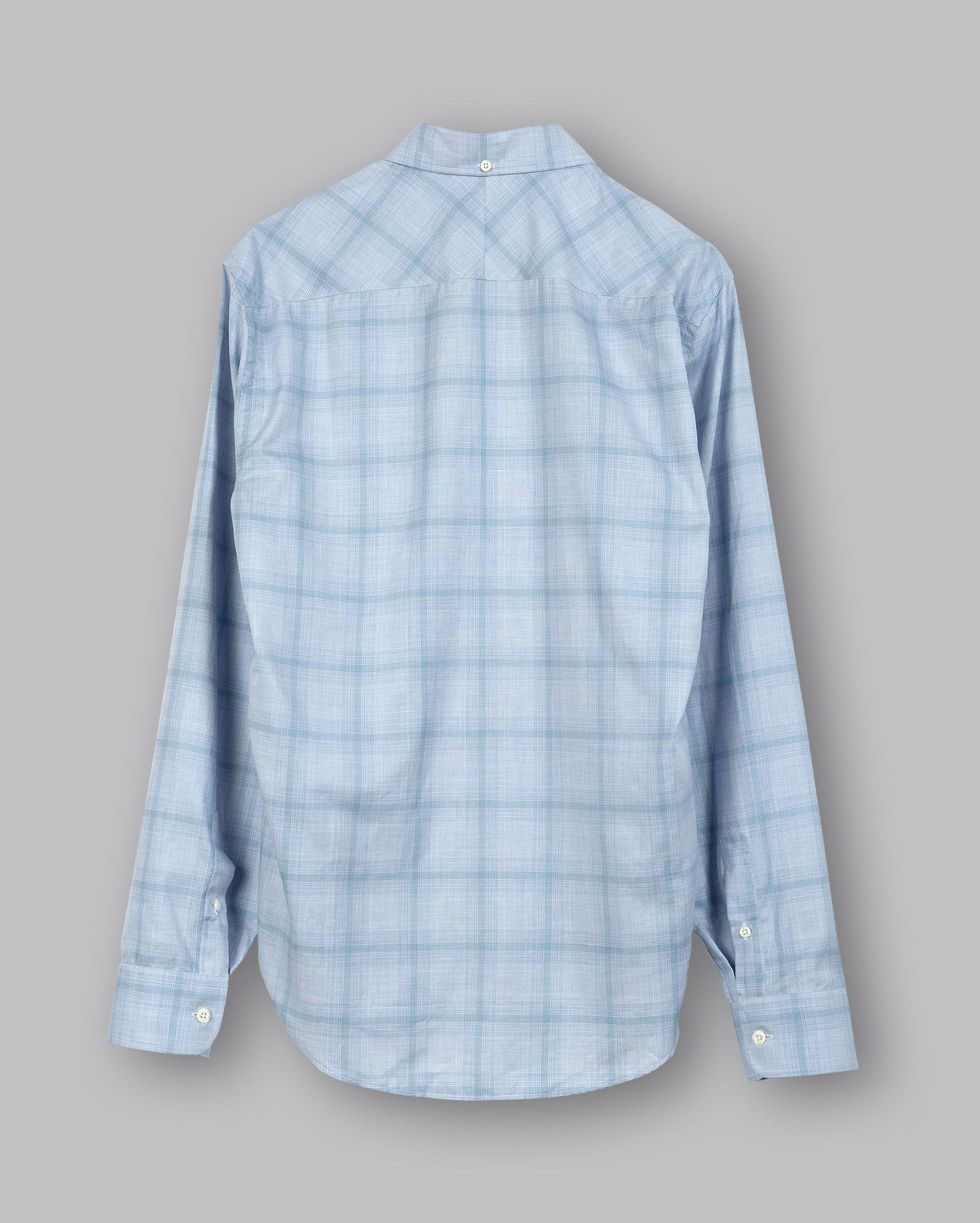 95d33d9145 Lyst - Billy Reid Kirby Bd Shirt in Blue for Men