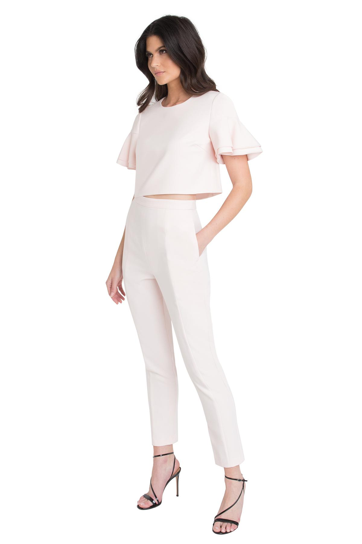 90ebc3d1fd5 Lyst - Black Halo Syon Two Piece Jumpsuit in White