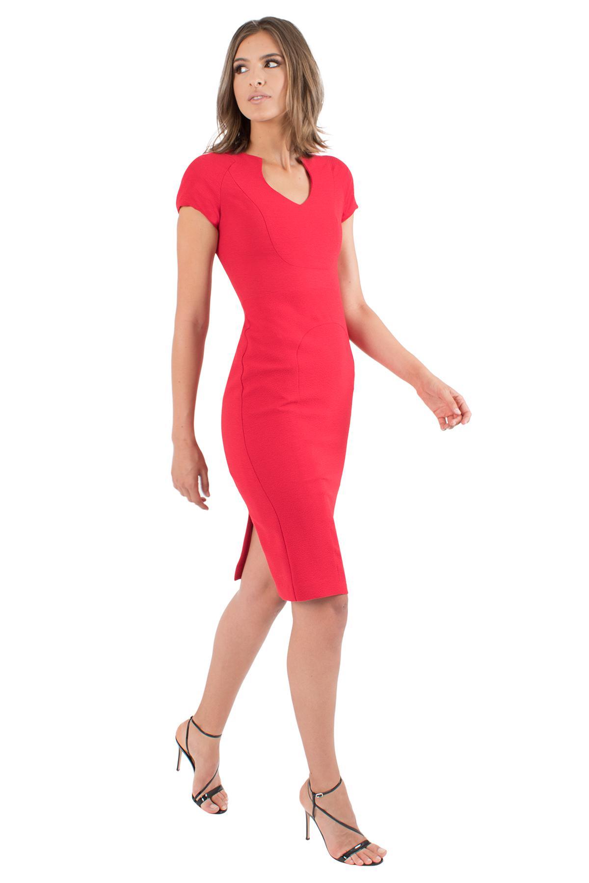 35d79c07aa5 Lyst - Black Halo Gypsy Rose Sheath in Red