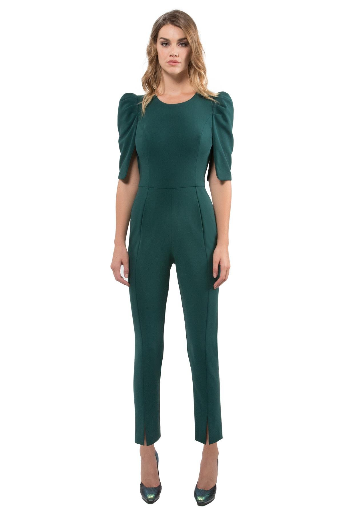 ddda15fd539 Black Halo Russo Jumpsuit in Green - Lyst