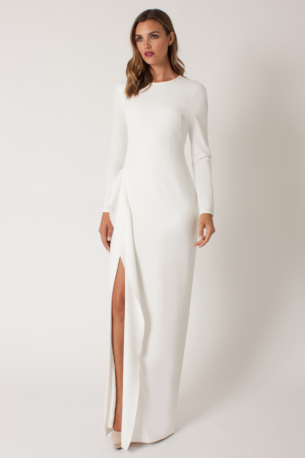Lyst - Black Halo Albright Gown in White