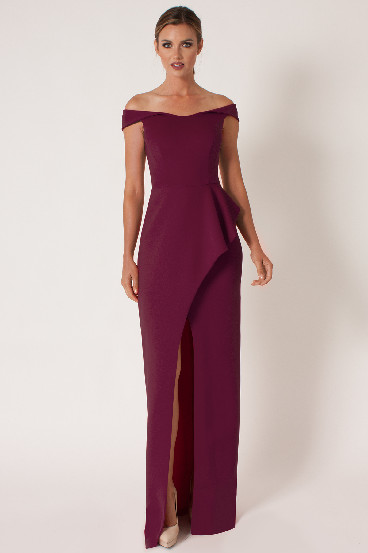 Lyst - Black Halo Padma Gown in Purple