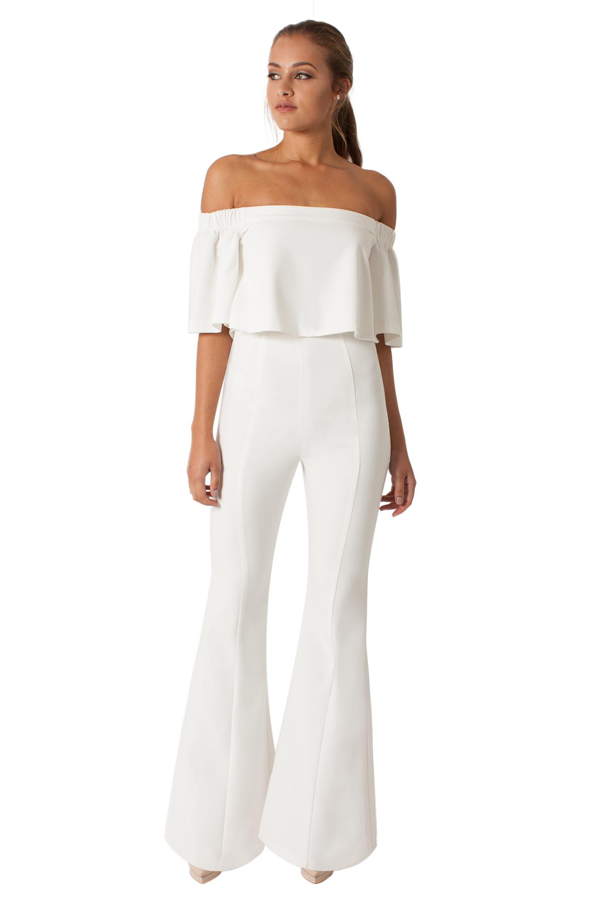 044d8e07632 Lyst - Black Halo Hadid Two Piece Jumpsuit in White
