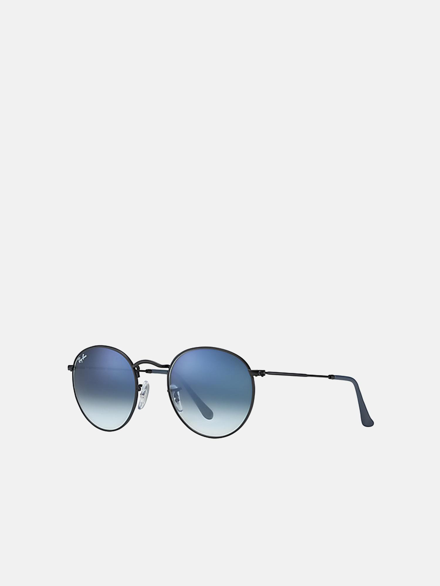 468338a16914 Lyst - Ray-Ban Round Metal rb3447 006 3f 50 in Blue