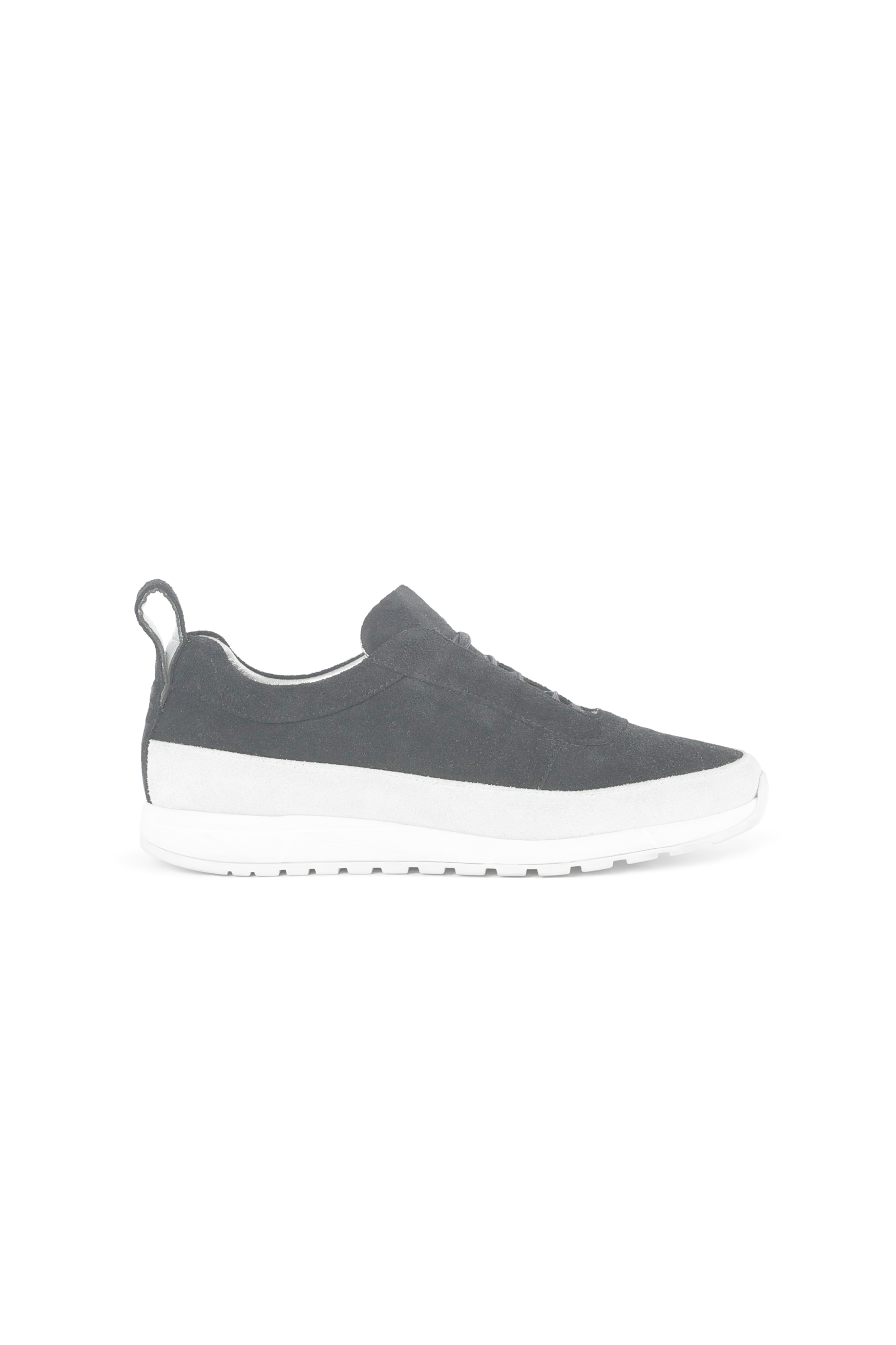 Armani Green Sudede Shoes With White Base For Men