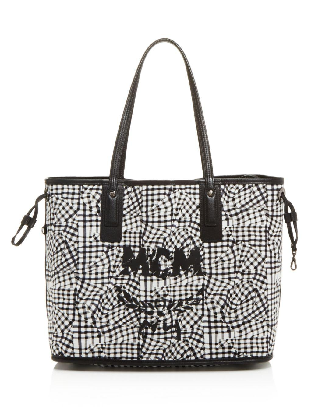 a82916356 MCM Reversible Visetos Project Shopper in Black - Save 8% - Lyst