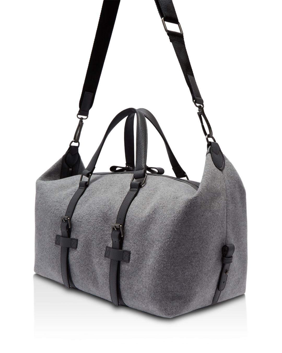 d24d4d4fa45c1 Lyst - Ted Baker Knitts Wool Holdall in Gray for Men