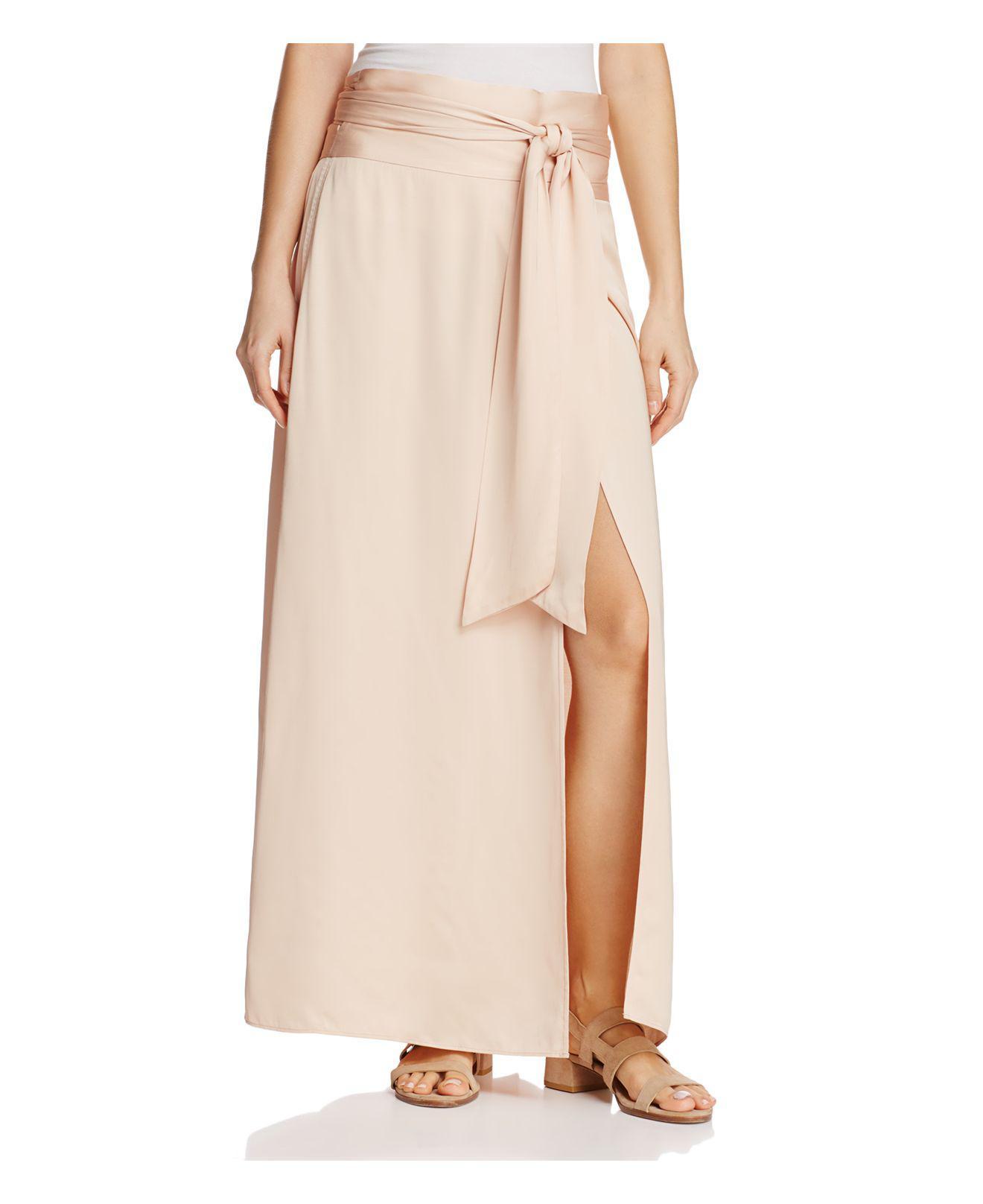 b2556939c Lyst - Elizabeth and James Almeria Wrap Maxi Skirt